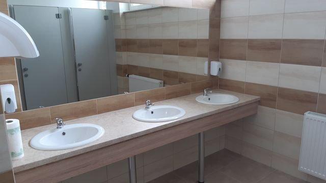 Łazienka szkolna
