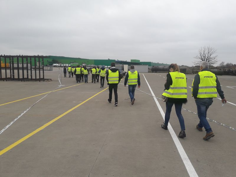 Zajęcia wyjazdowe w fabryce JOSKIN2019 (1)